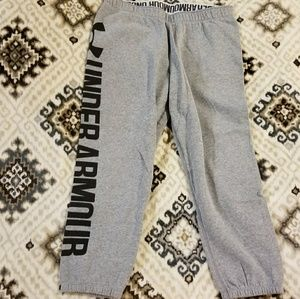 Under Armour crop sweat pants